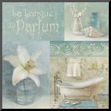 Parfum I Mounted Print by Danhui Nai