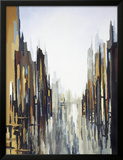 Urban Abstract No. 141 Framed Giclee Print by Gregory Lang