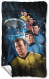 Star Trek - Among The Stars Fleece Blanket Fleece Blanket