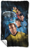 Star Trek - Among The Stars Fleece Blanket Fleece Blanket