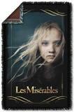 Les Miserables - Girl Woven Throw Throw Blanket