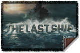 Last Ship - Out To Sea Woven Throw Throw Blanket