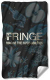 Fringe - Logo Fleece Blanket Fleece Blanket