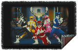 Power Rangers - Stance Woven Throw Throw Blanket