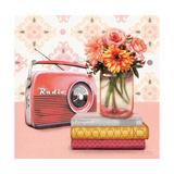 Music to My Ears Vintage Vignette Reproduction giclée Premium par Art Atelier Alliance