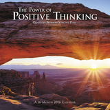 The Power of Positive Thinking - 2016 Calendar Calendriers