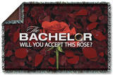 Bachelor - Rose Petals Woven Throw Throw Blanket