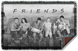 Friends - Break Time Woven Throw Throw Blanket