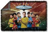 Star Trek - Original Crew Woven Throw Throw Blanket