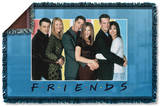 Friends - Skyline Woven Throw Throw Blanket