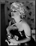 Marilyn Monroe, Chanel No.5 Mounted Print by Ed Feingersh