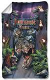 Jurassic Park - Welcome To The Park Fleece Blanket Fleece Blanket
