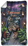 Jurassic Park - Welcome To The Park Fleece Blanket Fleece Blanket
