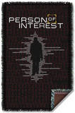 Person Of Interest - Numbers Woven Throw Throw Blanket