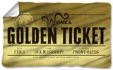 Charlie And The Chocolate Factory - Golden Ticket Fleece Blanket Fleece Blanket