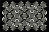 Optical Illusion Mounted Print