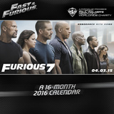 Fast & Furious - 2016 Calendar Calendars