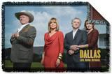 Dallas - Cast Woven Throw Throw Blanket