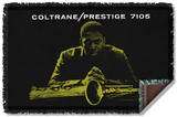 John Coltrane - Mellow Woven Throw Throw Blanket