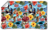 Elvis - Blue Hawaii Fleece Blanket Fleece Blanket