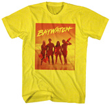 Baywatch - Orange T-Shirt