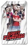 Scott Pilgrim - Poster Fleece Blanket Fleece Blanket