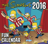 The Simpsons - 2016 Mini Calendar Calendars