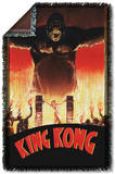 King Kong - At The Gates Woven Throw Throw Blanket