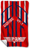 Top Gun - Goose Fleece Blanket Fleece Blanket
