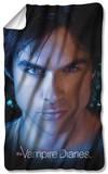 Vampire Diaries - Damon Eyes Fleece Blanket Fleece Blanket