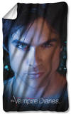 Vampire Diaries - Damon Eyes Fleece Blanket Fleece Blanket