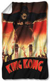King Kong - At The Gates Fleece Blanket Fleece Blanket