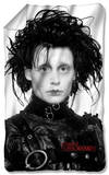 Edward Scissorhands - Heads Up Fleece Blanket Fleece Blanket