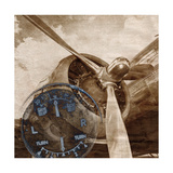 History of Aviation 2 Premium Giclee Print by Beau Jakobs