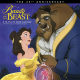 Beauty and the Beast - 2016 Calendar Calendars