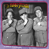 The Three Stooges - 2016 Calendar Calendarios