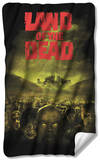 Land Of The Dead - Poster Fleece Blanket Fleece Blanket