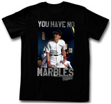 Major League - No Marbles T-shirts