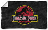 Jurassic Park - Classic Logo Fleece Blanket Fleece Blanket