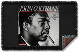 John Coltrane - Smoker Woven Throw Throw Blanket