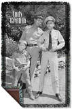 Andy Griffith - Lawmen Woven Throw Throw Blanket