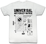 Hot Crazy Matrix - Hot Crazy V T-Shirt
