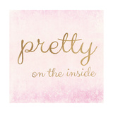 Pretty on the Inside Pink Premium Giclee Print by Miyo Amori