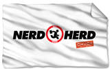 Chuck - Nerd Herd Fleece Blanket Fleece Blanket