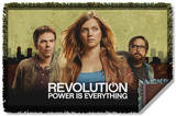 Revolution - Dark City Woven Throw Throw Blanket