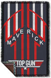 Top Gun - Maverick Woven Throw Throw Blanket