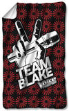 The Voice - Team Blake Fleece Blanket Fleece Blanket