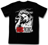Basic Instinct - Red And White T-shirts
