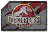 Jurassic Park - Slash Logo Woven Throw Throw Blanket