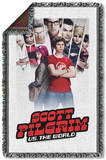 Scott Pilgrim - Poster Woven Throw Throw Blanket
